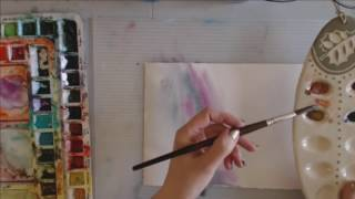 Angela Fehr Live Watercolour Lesson: Steps on the Artistic Journey