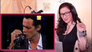 Vocal Coach Reacts - Marc Anthony- Hasta Que Te Conocí