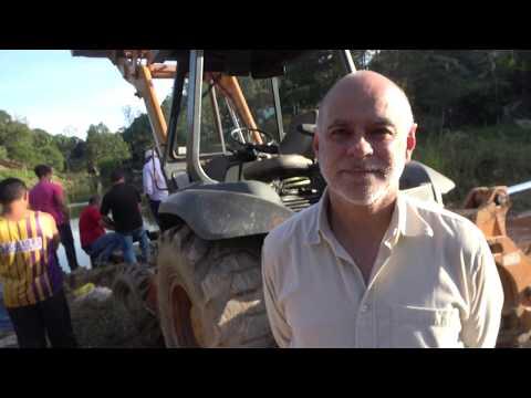 Augusto Engenheiro do DAEE fala sobre a situação da represa do Calazan