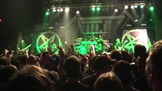 Anthrax 'Breathing Lightning' live in Grand Rapids 1/31/2016