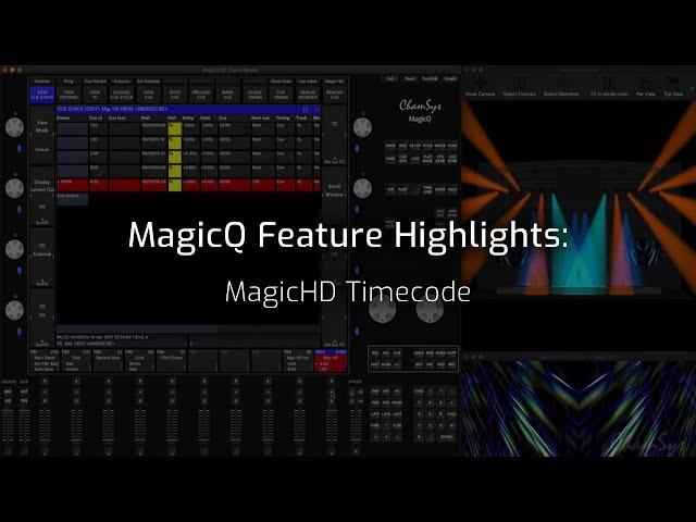 MagicHD Timecode