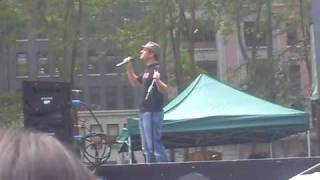Broadway in Bryant Park - Chad Kimball