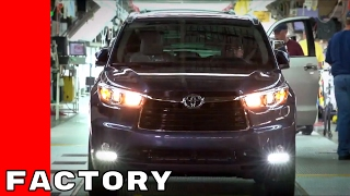 2017 Toyota Highlander, Sequoia, Sienna Factory Assembly Plant