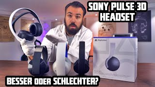 Lohnt sich das neue PS5 Sony PULSE Headset und 3D Sound? Vergleich mit Gold & Platinum PS4 Headsets
