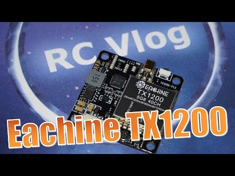 Eachine TX1200. Measure the power
