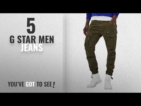 Top 10 G Star Men Jeans [ Winter 2018 ]: Men's G-Star Rovic Zip 3D Tapered Jeans - Dark Bronze Green
