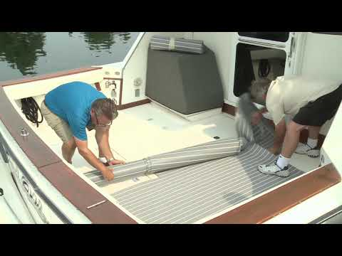 How to Install PlasDECK Boat Decking
