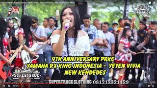 Yamaha RX King Indonesia -  Yeyen Vivia -  New Kendedes - 9th Anniversary PRKC