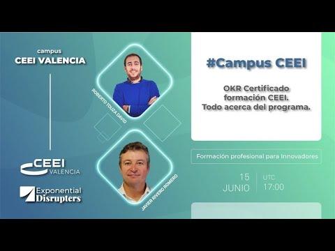 Webinar OKR Certificado CAMPUS CEEI. Todo acerca del programa[;;;][;;;]