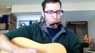 (744) Zachary Scot Johnson Talkin' World War III Blues Bob Dylan Cover thesongadayproject Zackary