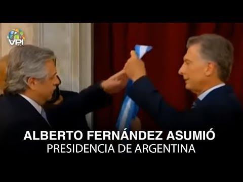 EN VIVO desde Argentina - Alberto Fernández asumió presidencia de Argentina