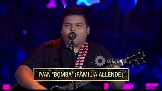 """Iván """"la bomba"""": explotó todo con sus reversiones de temas famosos"""