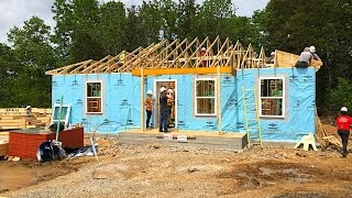 Building a house with Nissan & Habitat for Humanity in NASHVILLE!!!