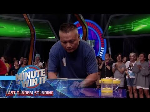 Pala-Catch | Minute To Win It - Last Tandem Standing