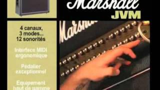 Marshall JVM410H - Video
