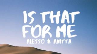 Alesso & Anitta - Is That For Me (Lyrics / Lyric Video) - YouTube
