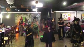 DJ witch flash mob performs at Valhalla Haflaween