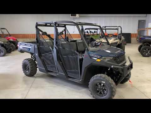 2021 Polaris Ranger Crew 1000 Premium + Winter Prep Package in Ottumwa, Iowa - Video 1