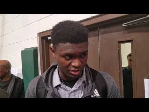 TigerNet.com - Zion Williamson talks Clemson, recruiting