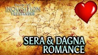 Dragon Age: Inquisition - Trespasser DLC - Sera & Dagna Romance