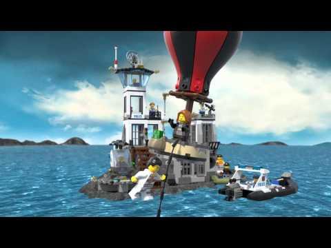 Lego City 60130 Więzienna Wyspa Lego