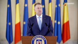Iohannis: Întoarcerea la electorat este soluţia corectă