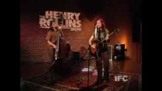 Ani Difranco performing Hypnotized on the Henry Rollins Show
