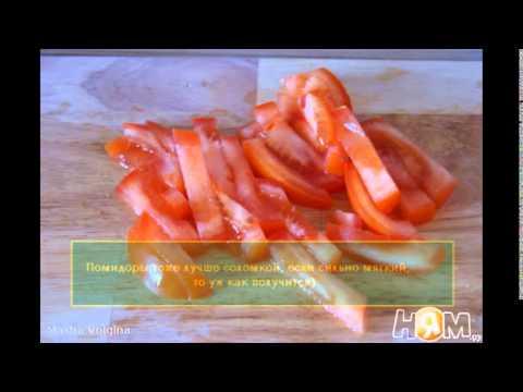 Салат Мужской каприз с ветчиной  Пошаговый рецепт с фото