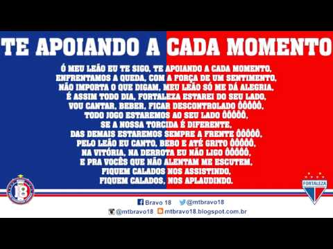 """""""Bravo 18 - Te Apoiando A Cada Momento"""" Barra: Bravo 18 • Club: Fortaleza"""
