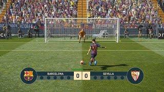 FC BARCELONA vs SEVILLA   Penalty Shootout   PES 2019 Gameplay PC