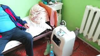 Пациент Николаевской ЦРБ показал, как выглядит отделение для больных COVID. Видео