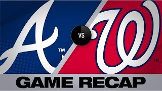 Donaldson's HR in 10th pushes Braves by Nats | Braves-Nationals Game Highlights 7/31/19