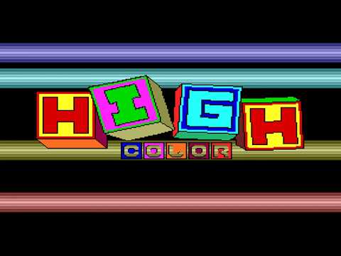 HighColor by speccy,pl, SAM Coupé demo