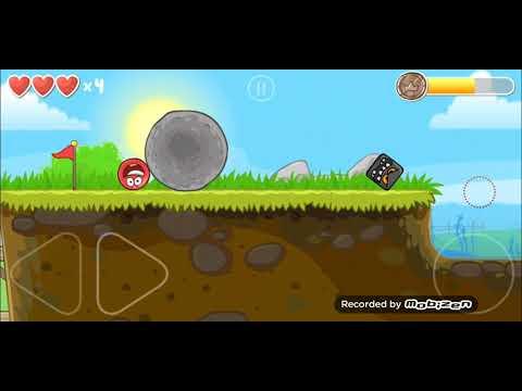 Red Ball 4 прохождение 4-6 уровень(4-6 level), красный шар 4