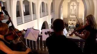 preview picture of video 'Muzyka na Ślubie - Białystok Kościół Niepokalanego Serca Maryi - Kwartet Primavera'