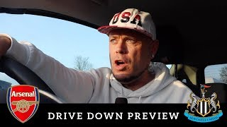 Drive down preview   Arsenal v Newcastle United