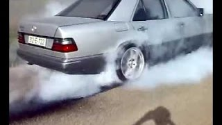 Mercedes-Benz w124 Brutal Drift & Burnout Part 2 ✔