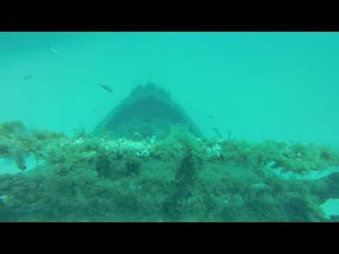 Diving Malta: Tugboat ST. MICHAEL, Zonqor Point / Tugboat St. Michael,Malta