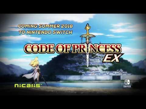 Code of Princess EX Nintendo Switch Announcement Trailer thumbnail