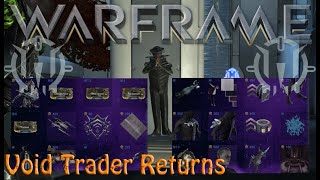 Warframe - Void Traders Returned! 149th Rotation [28th August 2020]