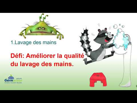 Germaction video de formation sur les infections