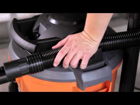 RIDGID WD1270 High Performance Wet/Dry Vac