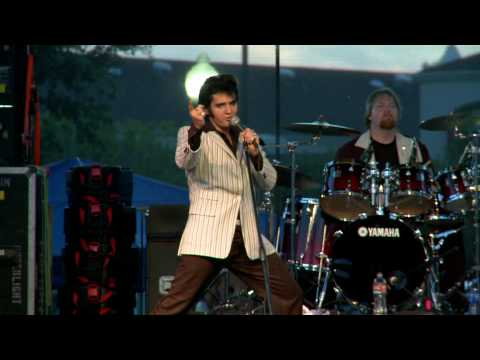 "Donny Edwards (ELVIS TRIBUTE) ""Hound Dog"" (A Production of The City of Waco)"