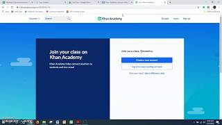 Joining a Class with a Link - Khan Academy