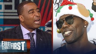 Cris Carter on Terrell Owens declining invite to his Hall of Fame rite   NFL   FIRST THINGS FIRST