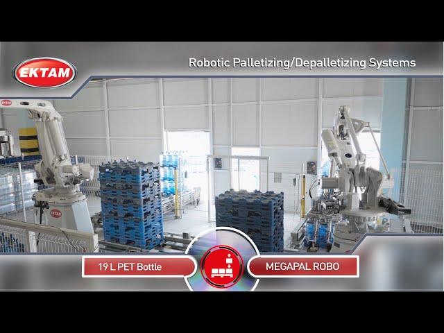 MEGAPAL ROBO Robot Palletizing @ 19L PC/PET