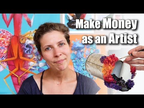 How to Make MONEY as an ARTIST or Creative – 10 years experience