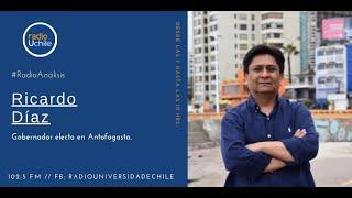 Ricardo Díaz y los desafíos en la gobernación regional de Antofagasta