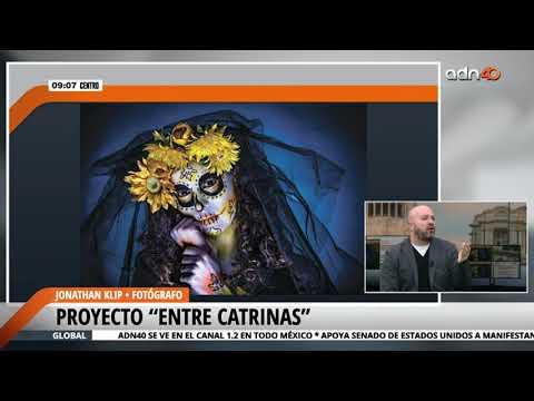 "Asombroso proyecto fotográfico ""Entre Catrinas"""