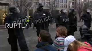 LIVE: Protest against Trump's inauguration in Washington D.C.